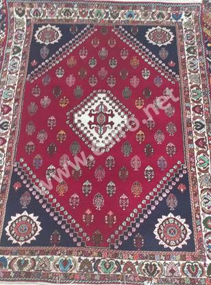 Iranian Woolen Dark Red Handmade 3 m Carpet